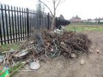 Rubbish at the allotments