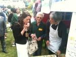 Wimbledon Village Fair jam tasting