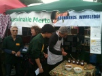 Our stall at the fair