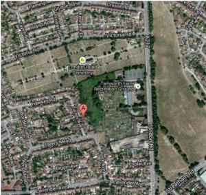 Tamworth Map Satellite
